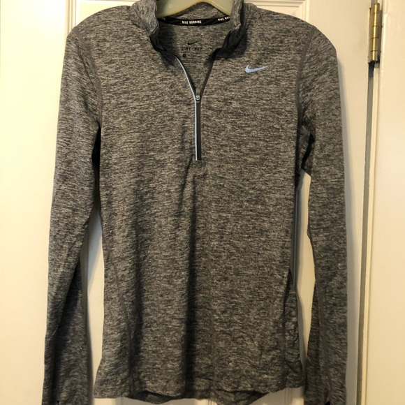 Nike Tops - Nike Dri-Fit Quarter Zip Running Pullover!